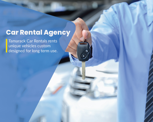 Car Rental Agency, Tamarack Car Rental Agency in Churchill, Manitoba, Canada