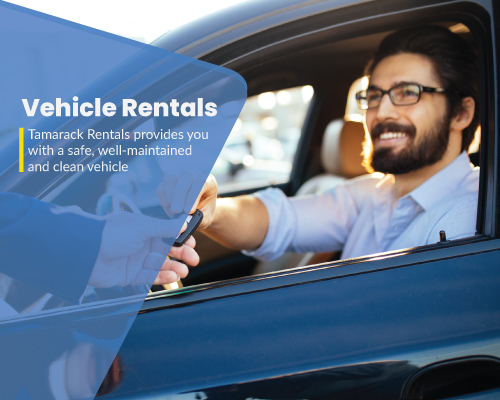 Vehicle Rentals, Tamarack Car Rental Agency in Churchill, Manitoba, Canada
